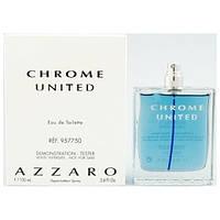 Azzaro Chrome United  Тестер edt 100 ml. m оригинал