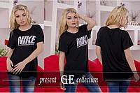 """Женская футболка """"Найк+++"""""""