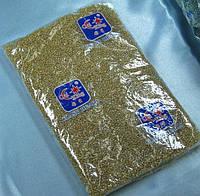 Бисер (Китай) 450гр.желтый болотный прозрачный BIS-БК450-31 /06-1