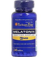 Мелатонин для сна Melatonin 3 mg 240 tab