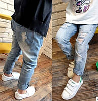 Модные рваные джинсы для мальчика