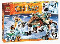 """Конструктор Bela 10293 Chima """"Саблезубый робот Сэра Фангара"""", 414 дет (аналог Лего 70143)"""