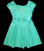 Яркое нарядное платье для девочки