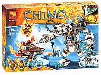 """Конструктор Bela Chima """"Ледяной бур Айсбайта"""" 10355, 628 дет (аналог Лего 70223)"""
