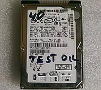 Tested Винчестер жесткий диск IDE 2.5 HDD 40GB