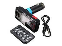 Автомобильный FM-модулятор (FM-трансмиттер) USB х 2