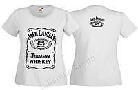 JACK DANIEL'S - белая - футболка женская