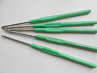 Крючок для вязания с пластиковой ручкой №3