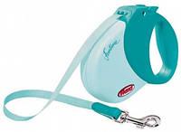 Поводок-рулетка для собак Trixie Flexi Funtime S - 5 м, до 15 кг, ремень