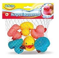 Набор игрушек для купания Яркие утята (украинская упаковка), BeBeLino (57086)