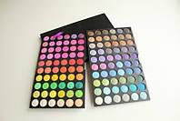 Палитра теней тени для макияжа 120 №5 полноцветные матовые МАС