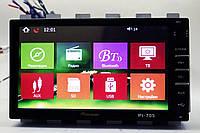 Магнитола Pioneer PI-703 2din GPS+USB+BT+TV+ флешка на 8 Гб с картами! Лучшая цена!