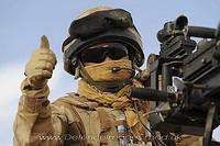 Арафатка (шемаг) британской армии.
