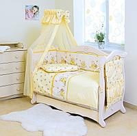 Постельный комплект для новорожденного Twins Comfort Медуны (8 предметов)