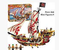 Конструктор Brick 1311 Legendary Pirates Корабль Мародеров 368 дет