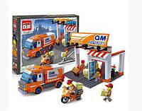 """Конструктор Brick City Series """"Служба доставки"""" 1119, 337 деталей"""