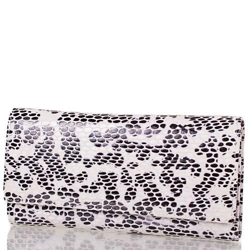 Женский красивый кожаный кошелек C&B (СИ ЭНД БИ), DS10065-2000