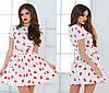 Женское платье губы в трёх расцветках