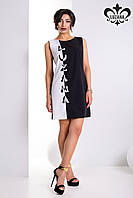 """Красивое  платье """"Домино"""" (черный+белый), фото 1"""