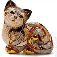 Декоративная Статуэтка De Rosa Rinconada Families. Кошка Пятнистая Отдыхающая (Dr106f-81)