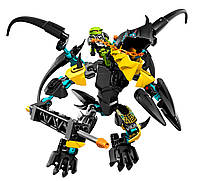 "Конструктор Hero 6 аналог LEGO ""Hero Factory:Летун против Бриз"",  307-2"