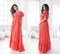 Женское платье креп в 5 расцветках , фото 1