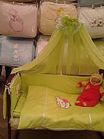Комплект детского постельного белья с вышивкой, Харьков