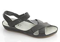Женские босоножки-сандалии на липучке, стелька-натур. кожа
