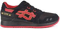 Мужские кроссовки Asics Gel Lyte III (асикс гель) черные