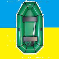 ПВХ Надувная гребная лодка Омега гламур 2,4м (2-х местная)