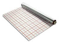 Фольга с разметкой для теплого пола 55 микрон (рулон 50 кв.м.)