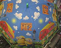 Детский зонт трость Minion