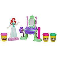 Игровой набор пластилина Play-Doh принцесса Дисней Ариэль (Русалочка). Оригинал Hasbro