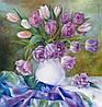 «Тюльпаны 2» картина маслом