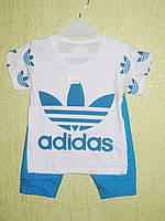Летний костюм детский адидас