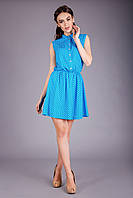 Комфортное летнее платье из натуральной ткани, фото 1