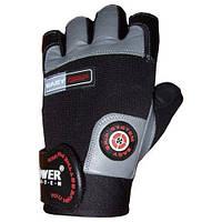 Перчатки для турника Power System PS-2670 EASY GRIP черно-серый