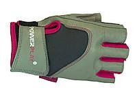 Кожаные женские перчатки PowerPlay 1747