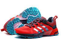 Кроссовки Adidas Flyknit2, женские/подросток, коралловые, р. 37 39 41, фото 1