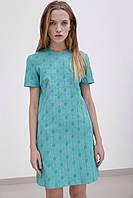 Женское свободное короткое летнее платье    Разные цвета
