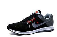 Кроссовки Nike Zoompegasus 32, мужские, текстиль, черные, р. 42, фото 1