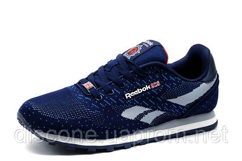Кроссовки  Reebok Classic мужские, темно-синие