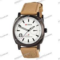 Часы мужские наручные Curren 8139 Black-White