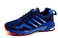 Кроссовки мужские Adidas Marathon TR 15, текстиль, синие с голубым, фото 1