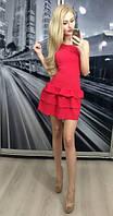 """Платье """"Мисс"""", красное"""