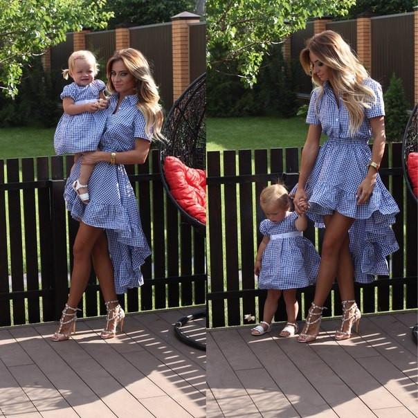 Платья на выпускной для мамы и дочки одинаковые