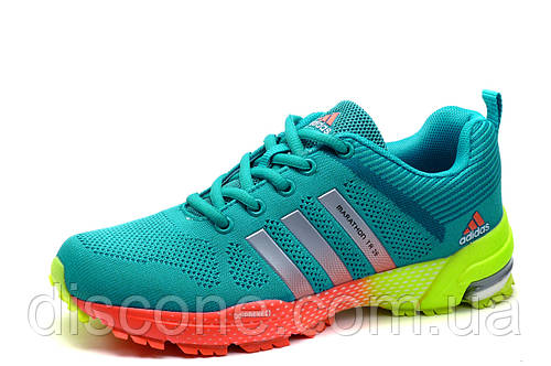 Кроссовки Adidas Marathon TR 26, бирюзовые, унисекс, р. 36