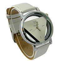 Часы женские кварцевые наручные Triangle White