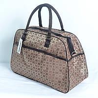 Дорожная сумка-саквояж среднего размера (код 87-546)