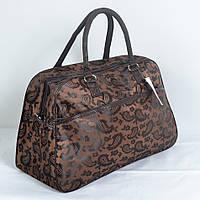 Дорожная сумка-саквояж среднего размера (код 87-547)
